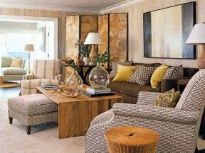 Yellow Living Room Brown Furniture Brown And Yellow Living Room Design Decor Photos