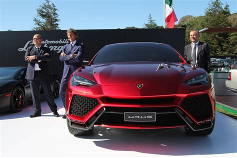 stephan winkelmann house lamborghini urus concept makes its pass at america