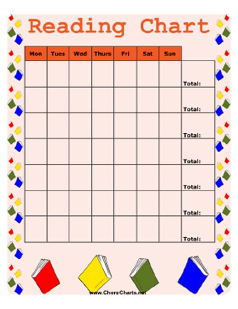 free printable reading graphs printable reading chart picture to pin on pinterest