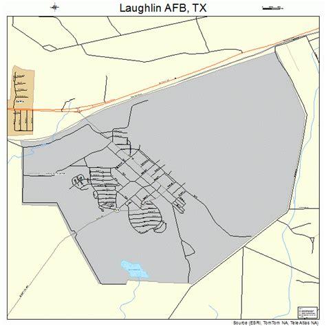 texas afb map laughlin afb texas map 4841704