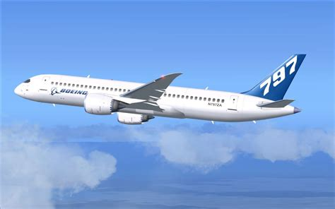 House Plans Open Concept by Boeing 797 V2 For Fsx