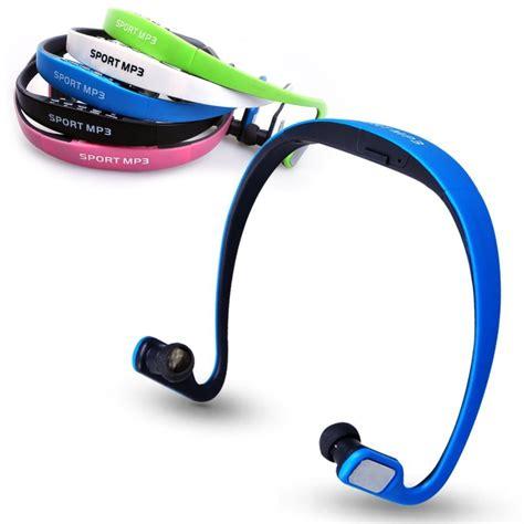 sport earphones headsets portable tf card headphones fm