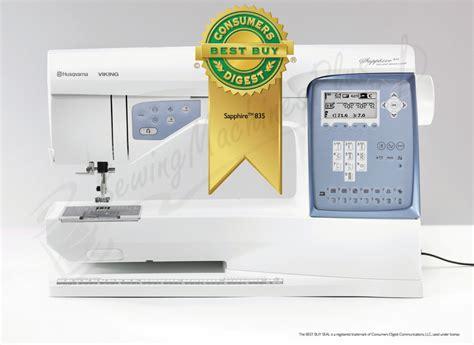 Viking Quilting Sewing Machines by Husqvarna Viking Sapphire 835 Sewing And Quilting Machine