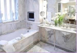 White Marble Bathroom Ideas by A Whole Lotta The Classic White Marble Bathroom
