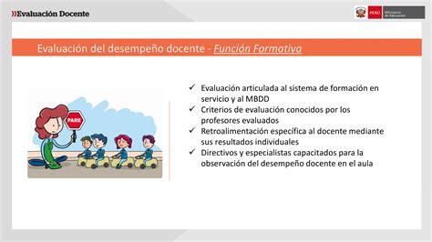 evaluacion para ascenso de nivel en educacion minedu exposici 243 n sobre evaluaci 243 n de desempe 241 o por giuliana