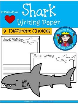 shark writing paper a shark writing paper by davis teachers pay