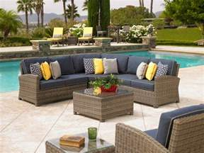 cape bainbridge wicker furniture bainbridge sectional by northcape outdoor 1 patio