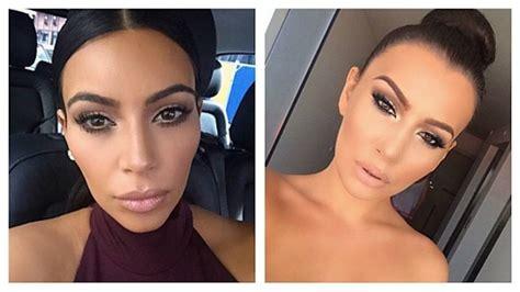 doble de kim kardashian llama la atencin de sus fans con la doble de kim kardashian triunfa en instagram as com