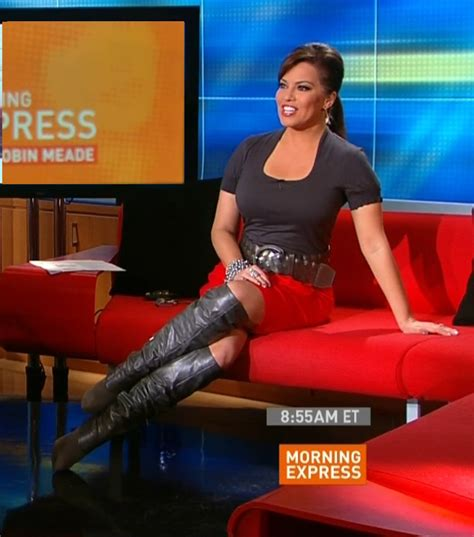 newswomen in boots the appreciation of booted news robin meade