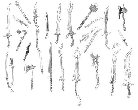 doodle how to make weapon random weapons 3 by bladedog deviantart on deviantart