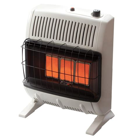 gas room heater vent free mr heater 20 000 btu vent free radiant gas heater 651030 home heaters at sportsman s