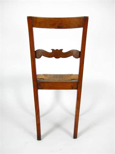 sedie antiche restaurate sedia antica in noce con sedile impagliato in buono stato