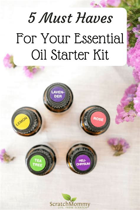 Must Aromatherapy Oils by 5 Must Haves For Your Essential Starter Kit