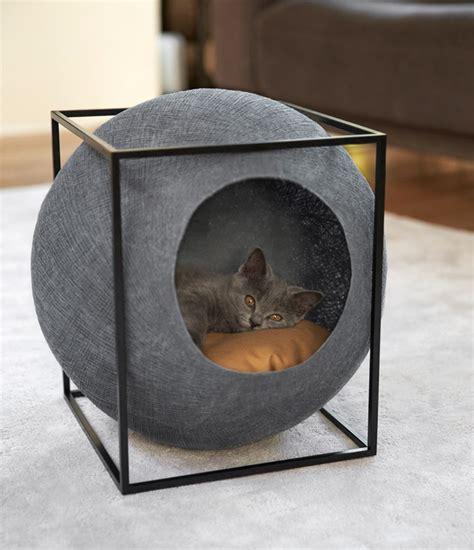 stylish cat furniture meyou designs stylish cat beds urdesignmag