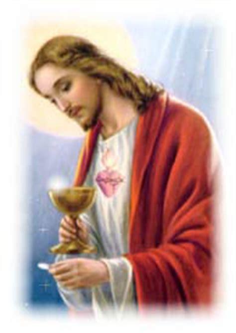 imagenes de jesus dando la comunion espiritualidad misionera el salvador misionero