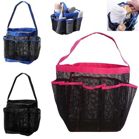Basket Shower Tote by Shower Mesh Basket Bag 8 Pocket Breathable Caddy