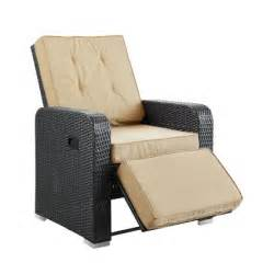 outdoor wicker recliners