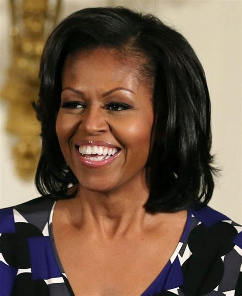 hairstyles for dark hair oval face 5 michelle obama hairstyles classic haircut popular