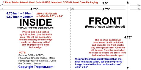 dvd inside card insert cover template trepstar artwork templates with dimensions for cd dvd disc