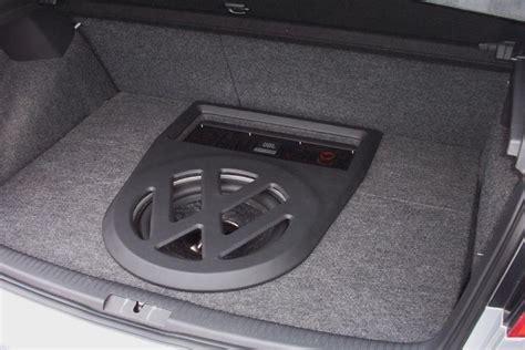 Subwoofer Enclosure Carpet by Basser Vw Golf V