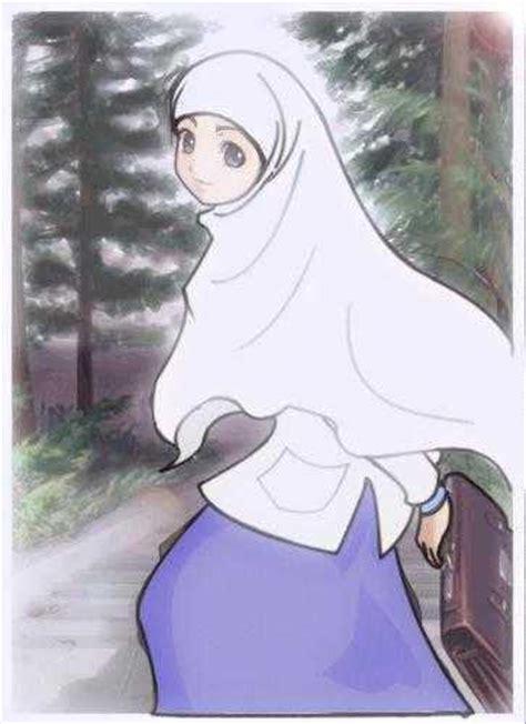 Jilbab Kartun Fa18rabo Wallpaper Muslimah Kartun