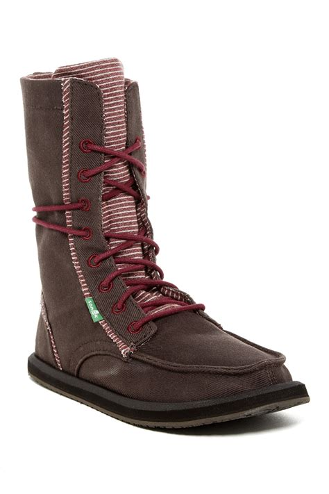 sanuk boots womens sanuk stevie lace up boot nordstrom rack