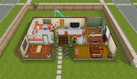pretty awesome sims freeplay themed house sims