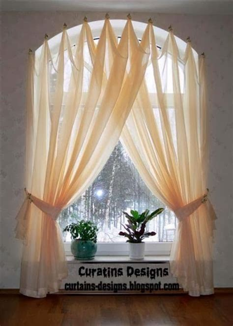 Curtains For Windows With Arches Arched Window Drapery Ideas Arched Windows Curtains On