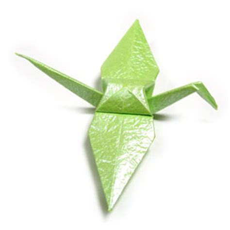 Traditional Origami Crane - how to make a traditional origami crane page 1