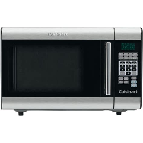cuisinart 1 cu ft stainless steel microwave countertop