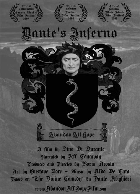 Dante's Inferno - Abandon All Hope, A film based on The