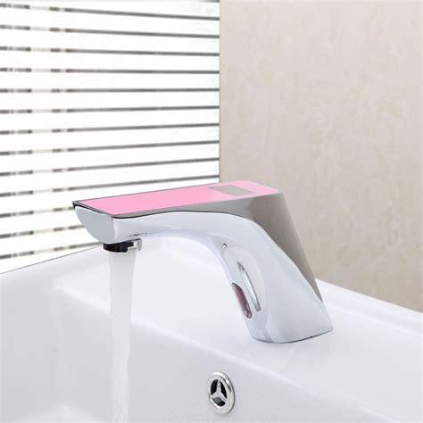 Motion Sensor Water Faucet by Romo Motion Sensor Faucet Digital Display