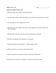 night section 3 questions night study guide questions key night
