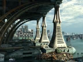 futuristic architecture free background wallpaper science fiction wallpaper