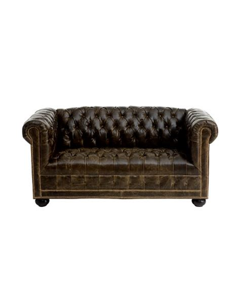 old hickory tannery leather sofa old hickory tannery quot st andrews quot leather sofa