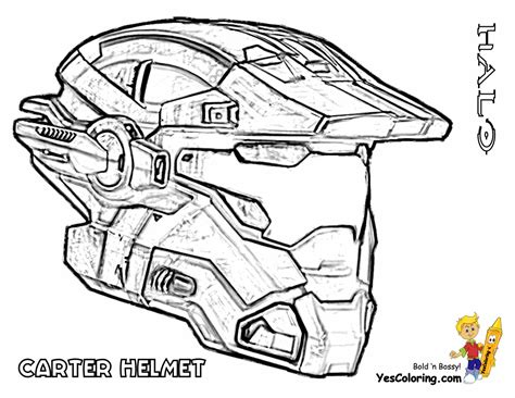heavy halo reach coloring free halo reach halo