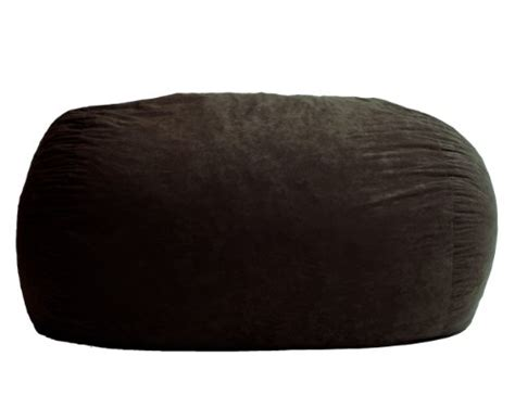 Xl 6 Fuf Comfort Suede Bean Bag by Big Joe Xl Fuf Foam Filled Bean Bag Chair Comfort Suede