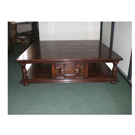 Jacobean Coffee Table Square Coffee Table