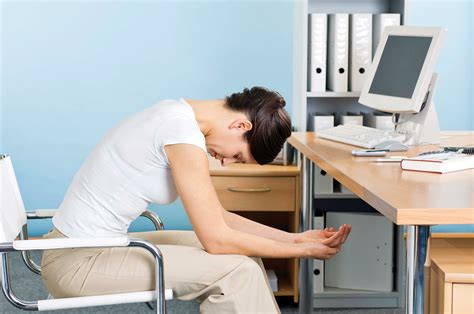 Ab Workout While Sitting At Desk by Exercising Postures While Working Hours
