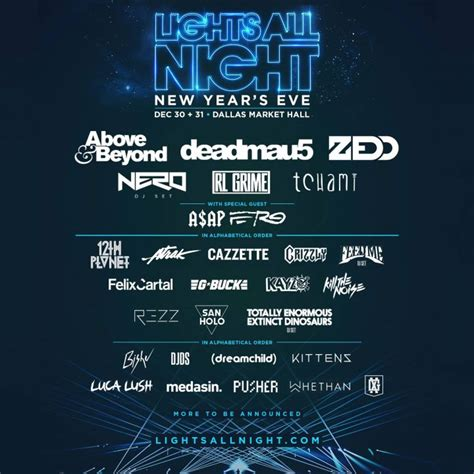 the lights festival dallas lights all reveals lineup for dallas nye