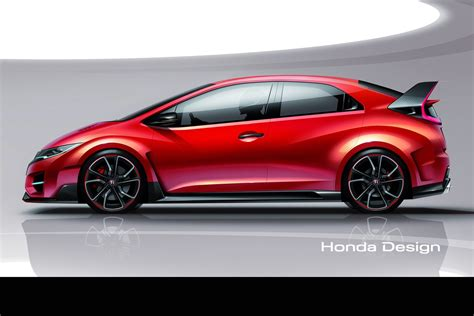honda says new civic type r concept is a racing car for