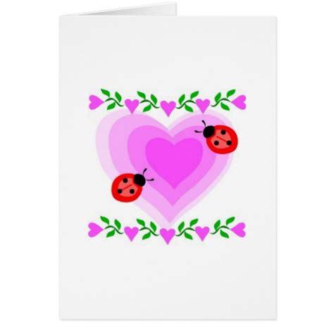 love romantic heart hearts lady bug paper clip art