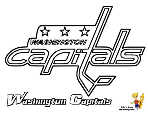 Free Coloring Pages Of Nhl Hockey Teams Nhl Hockey Coloring Pages