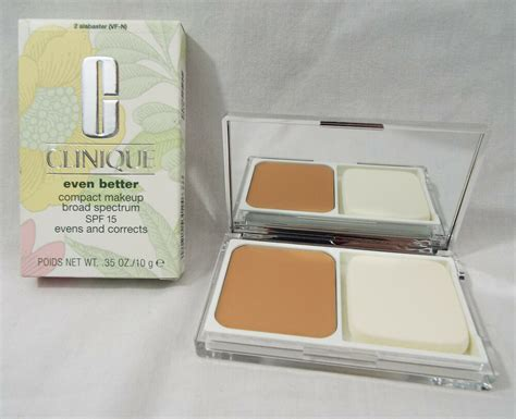 Clinique Even Better Makeup And Correct Foundation clinique even better compact makeup spf15 in alabaster 2
