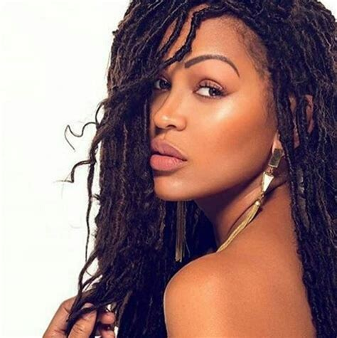 megan good faux locs lovely faux locs on meagan good styled by drkariwill