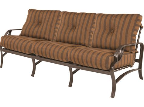 deep cushion couch windward design group eclipse deep seating cast aluminum