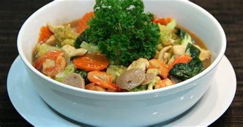 cara membuat capcay sayur goreng resep cara membuat capcay