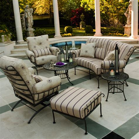 patio furniture seating sets terrace wrought iron seating patio furniture by