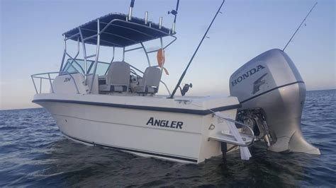 angler 204 boat 2007 used angler 204 center console center console fishing