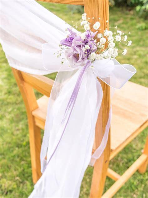 Stuhldekoration Hochzeit by Eine Ausgefallene Stuhldeko F 252 R Die Hochzeit Zum